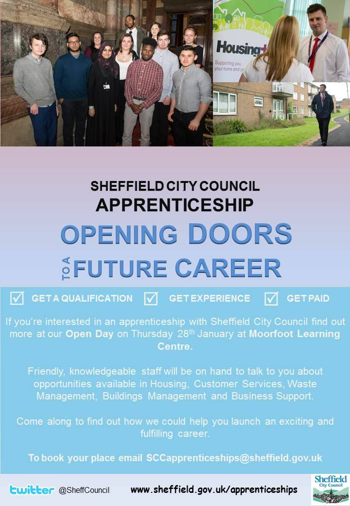 Sheffield City Council Apprenticeships